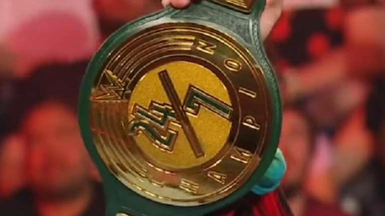WWE 24/7 Championship Changes Hands Twice Today