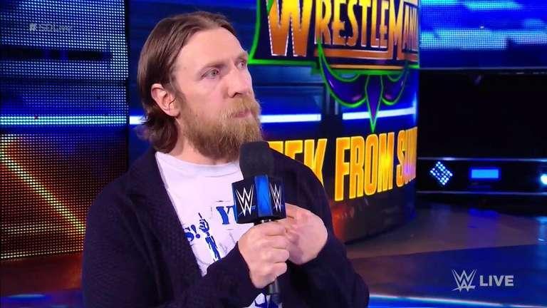 Daniel Bryan propose un énorme match par équipe pour WrestleMania 34