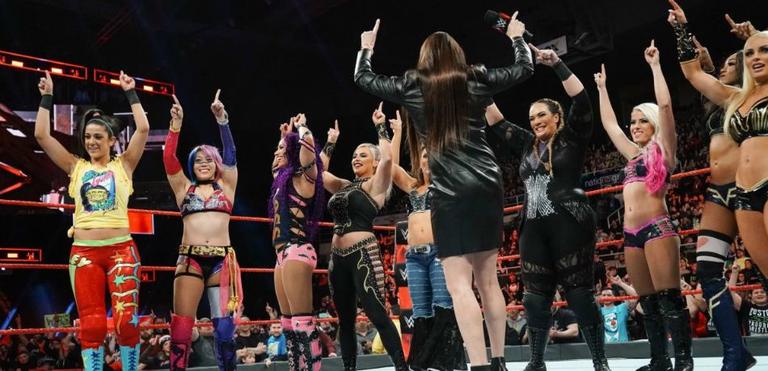 Superstars de la WWE Femme Pas Royal Rumble À propos Told Plans préalable