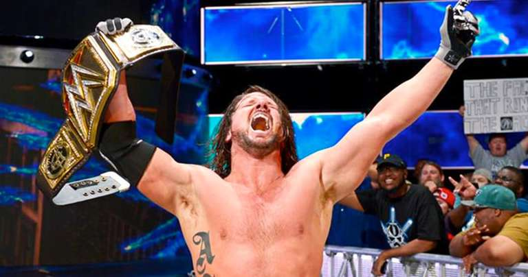 AJ Styles Is Now The Longest Reigning World Champion In SmackDown History