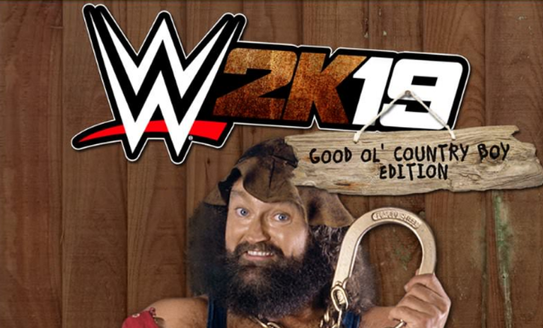 What If Hillbilly Jim Was The Wwe 2k19 Video Game Cover