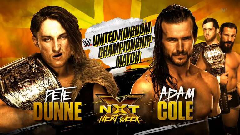 WWE United Kingdom Championship Match Announced for Next Week's NXT