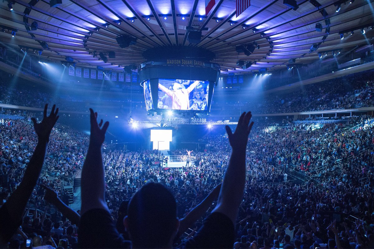 Results from wwe 39 s live event in madison square garden 07 - Madison square garden event schedule ...