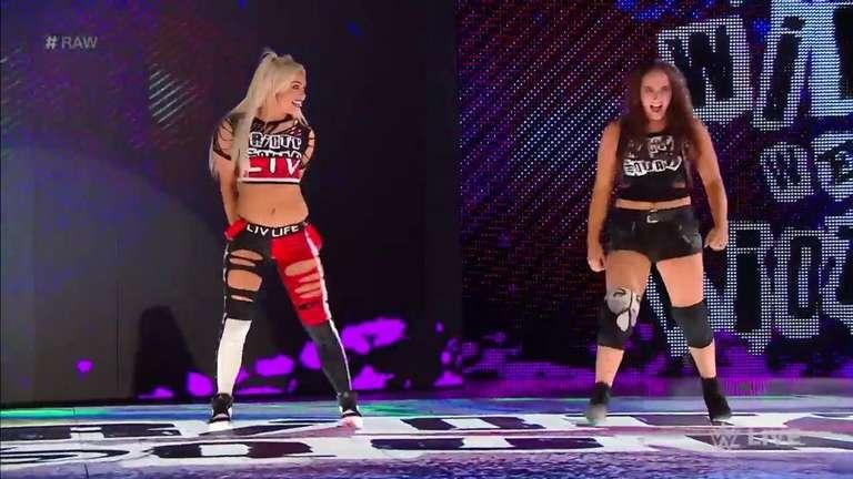 644fbe420b7e Liv Morgan And Sarah Logan Advance To WWE Women s Tag Team Championship  Elimination Chamber Match