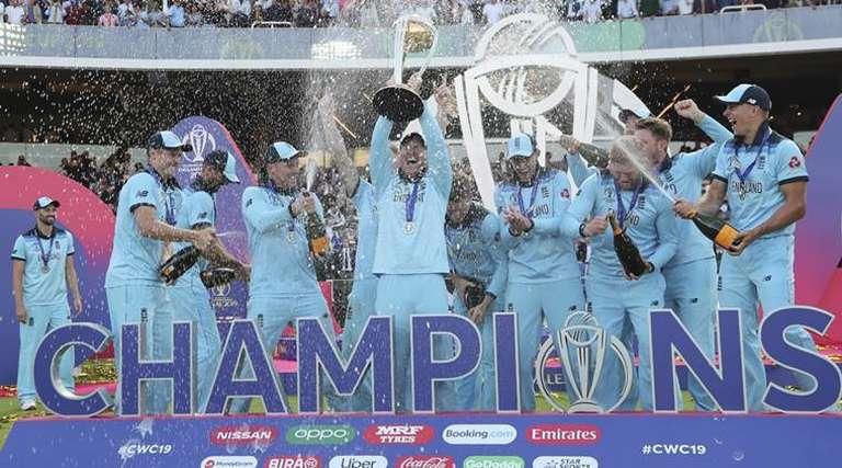 England Mens Cricket Team Receive Custom Wwe Championship -4551