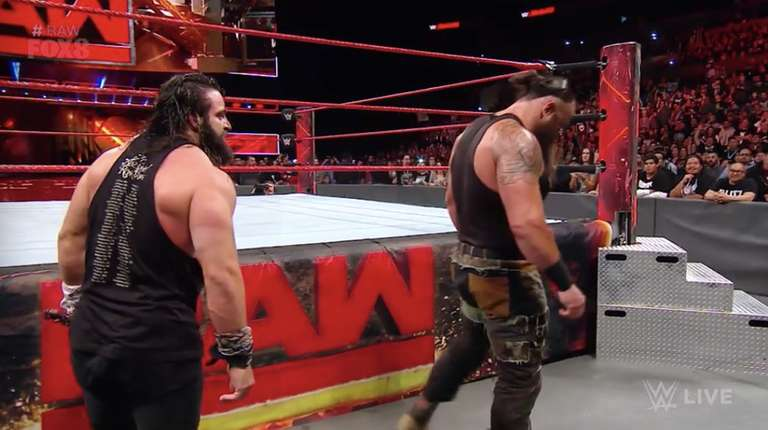 Wwe raw results 12 04 elias samson vs braun strowman wrestlingnewssource com - Braun strowman theme ...