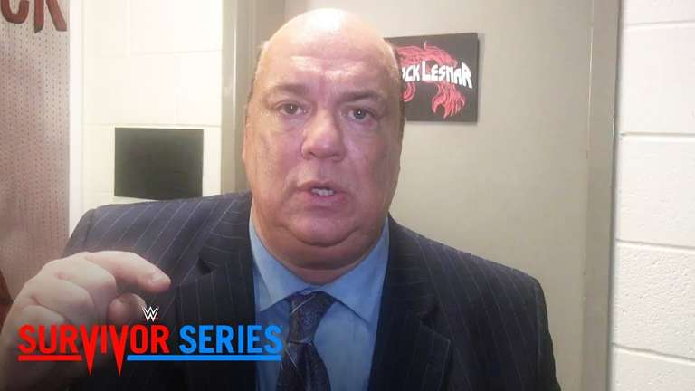 Paul Heyman Highly Praises AJ Styles After Loss To Brock Lesnar At Survivor Series