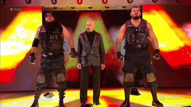 The Authors Of Pain And Paul Ellering Make Their WWE Main Roster Debuts On Raw