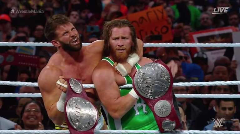 Image result for The Revival Wrestlemania 35