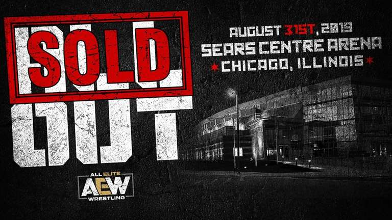 AEW All Out Pay Per View Sells Out In 15 Minutes