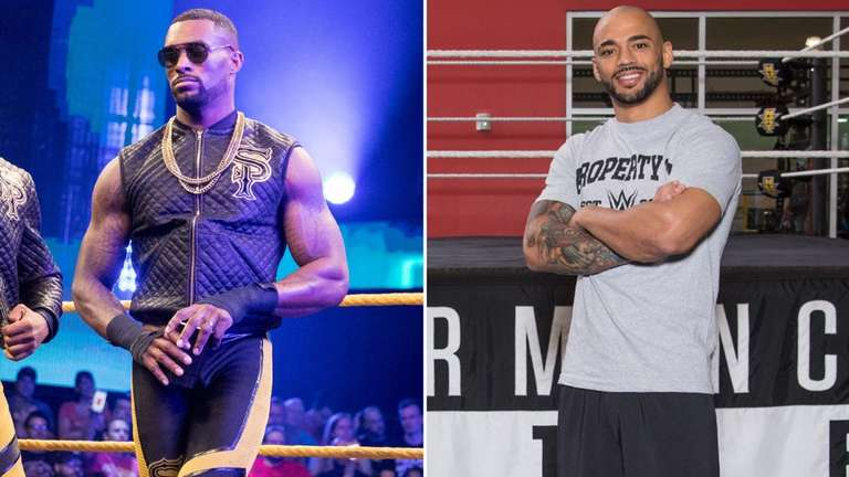 WWE Covers Twitter Feud Between Ricochet and NXT Star ...