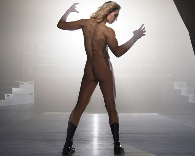 charlotte wwe naked