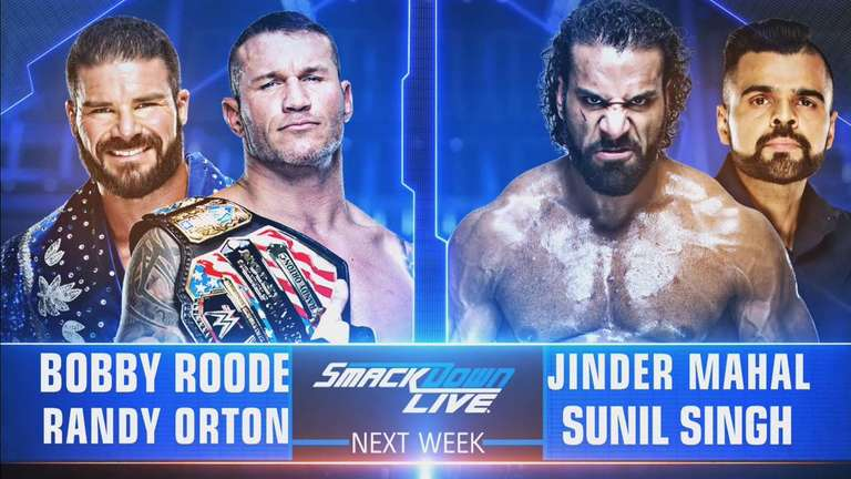 Tag Team Match Announced For Next Week's WWE SmackDown