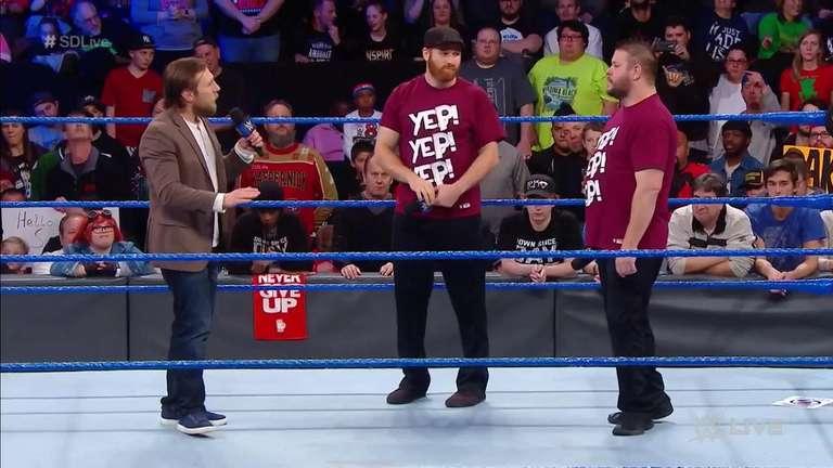 Daniel Bryan à être deuxième arbitre pour match par équipe à Clash of Champions