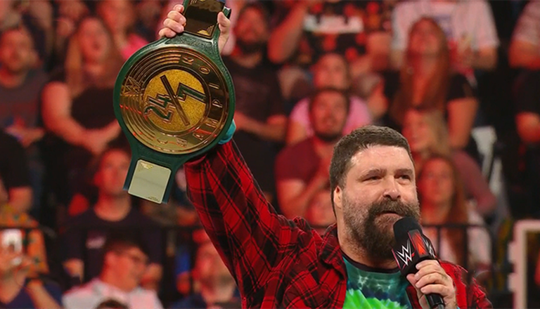Mick Foley Blames Himself For A Poor Promo Introducing The New WWE 24/7 Title