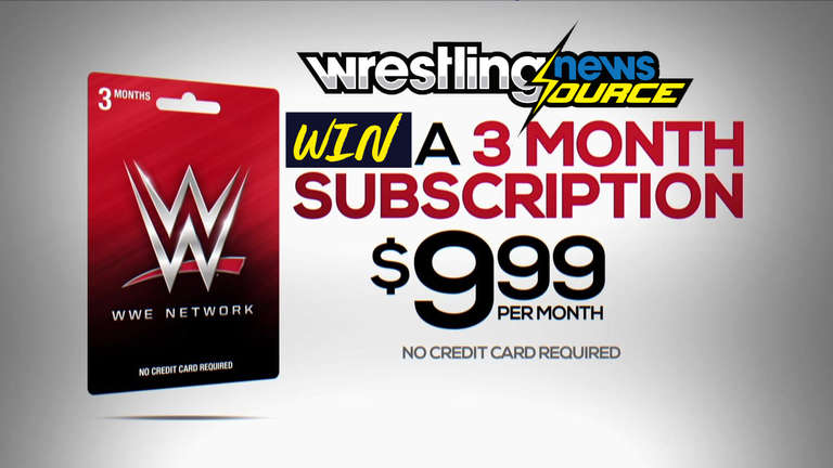 Win A WWE Network 3-Month Subscription Or WWEShop Gift Card