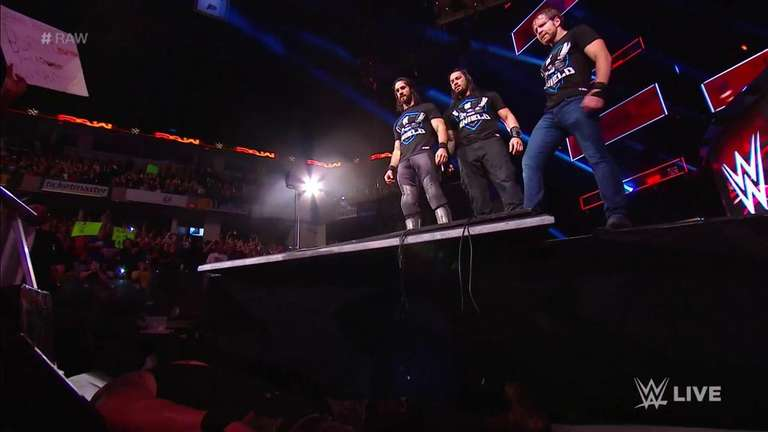 Video the shield takes out braun strowman on wwe raw wrestlingnewssource com - Braun strowman theme ...