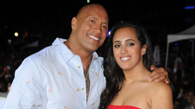 The Rock's Daughter ...