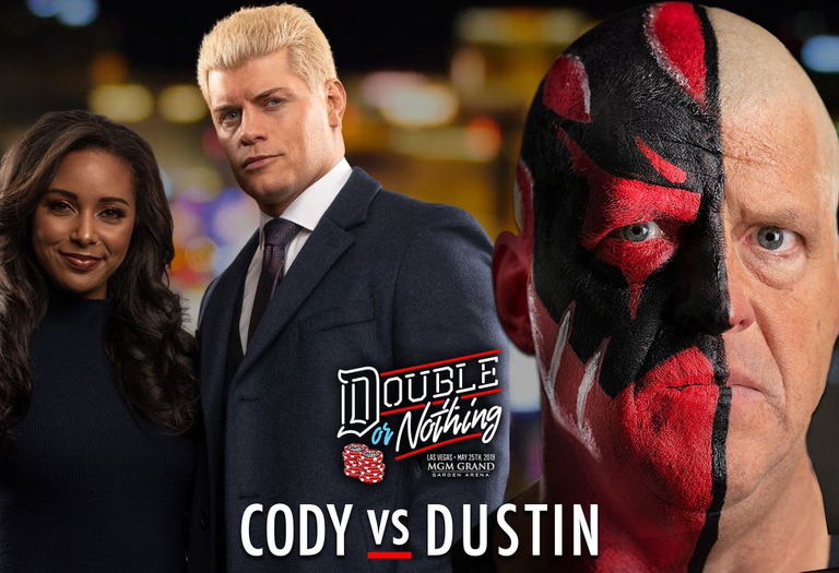 Cody Rhodes vs. Dustin Rhodes Announced for AEW Double or Nothing