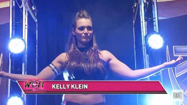 women of honor champion kelly klein inks new deal with roh