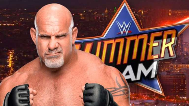 Goldberg Reportedly To Return For Match At WWE Summerslam