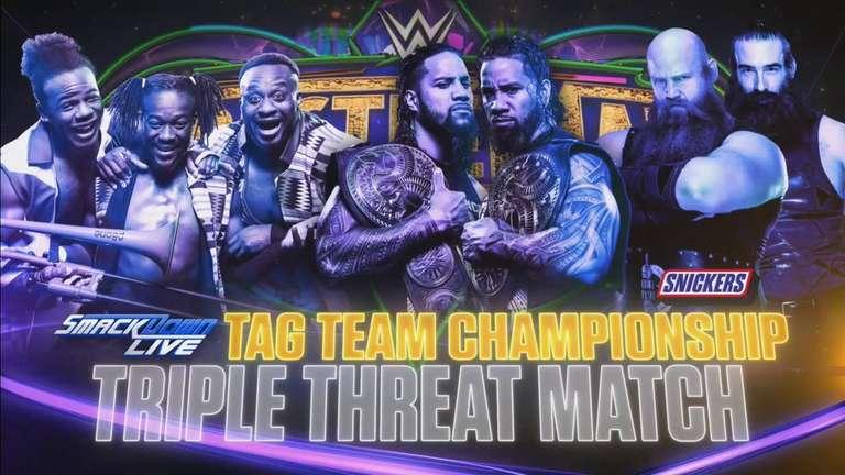 Match par équipe triple menace Meneur pour SD Live Tag titres annoncés pour WrestleMania 34