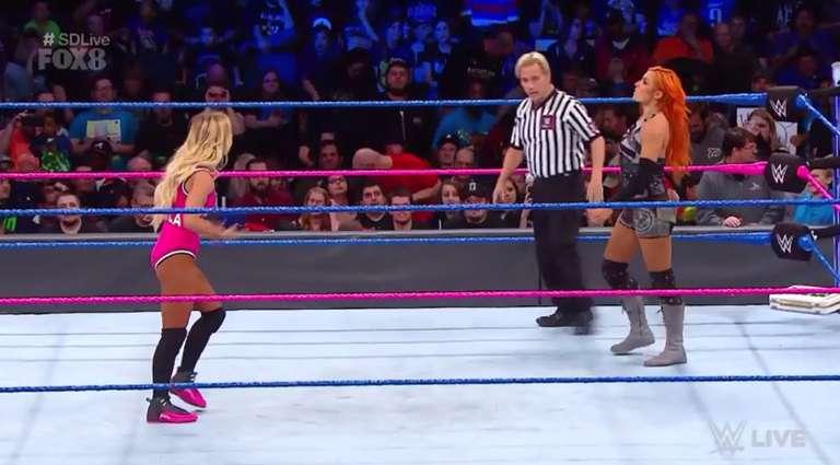 Wwe Smackdown Live Results 10 10 Becky Lynch Vs