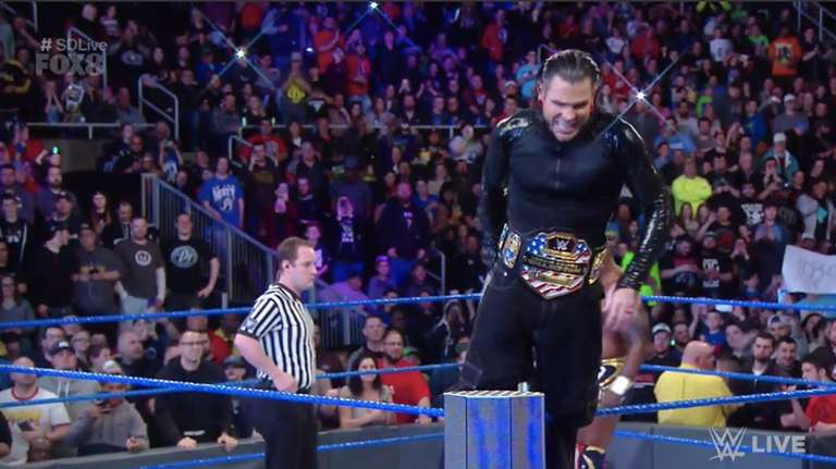 e04bc16e WWE United States Champion Jeff Hardy Moves to SmackDown Live from Raw