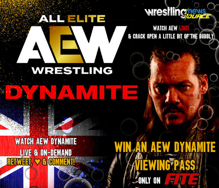 WIN A Free Viewing Pass To Watch Tomorrow's AEW Dynamite LIVE On FITE TV