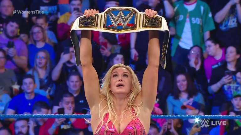 Charlotte Flair Wins WWE SmackDown Women's Title In Shock Victory