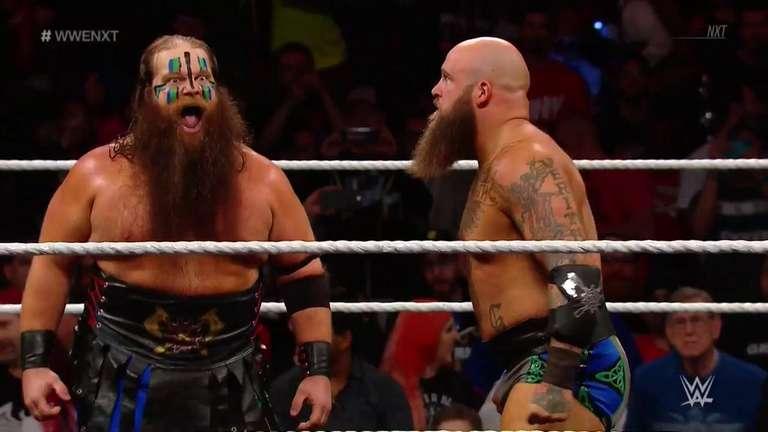 Raymond Rowe & War Beard Hanson Officially Debut on Tonight's NXT