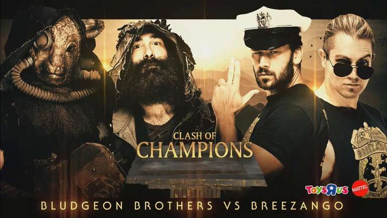 Bludgeon Brothers vs Breezango pour Clash of Annoncée Champions