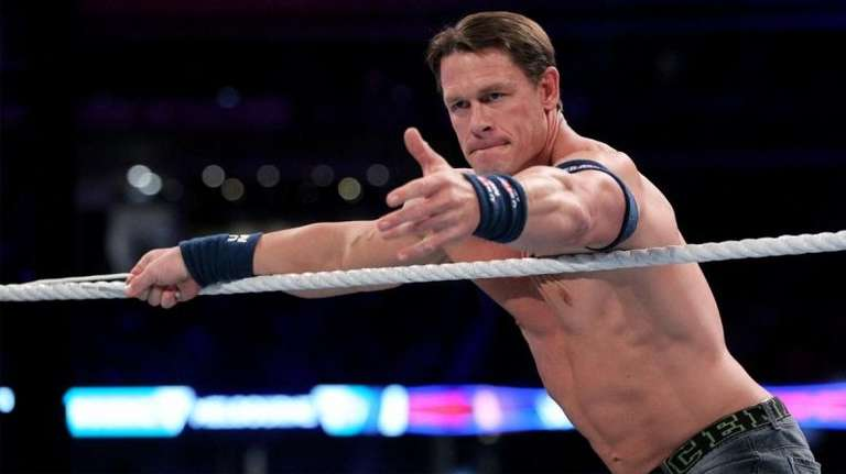 John Cena Compares His Current Haircut To Homer Simpson