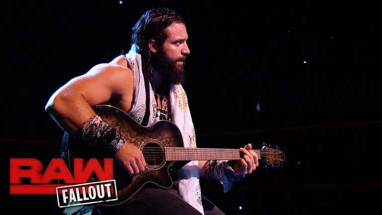 Elias Debuts A New Song Before Monday S Wwe Raw Broadcast