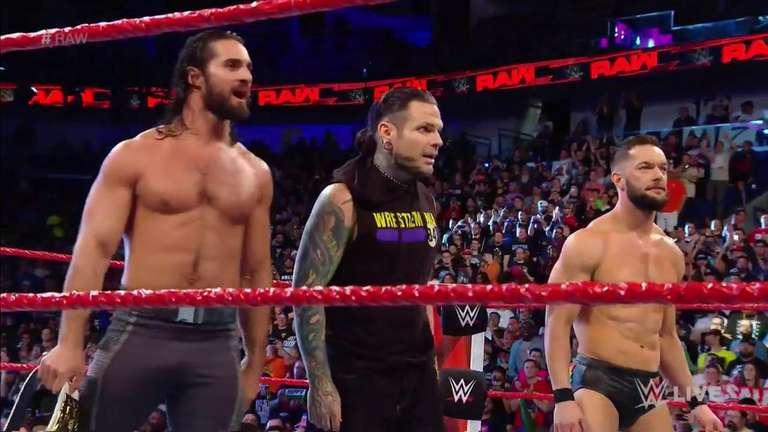 Jeff Hardy revient à la WWE sur Raw